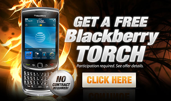 Free Blackberry Torch