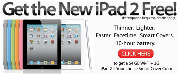 Test and Keep Free Apple iPad