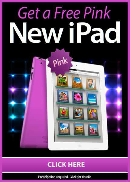 free pink ipad